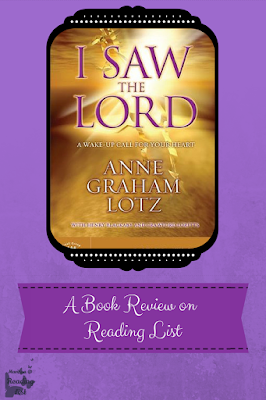 I Saw the Lord a group study book review on Reading List