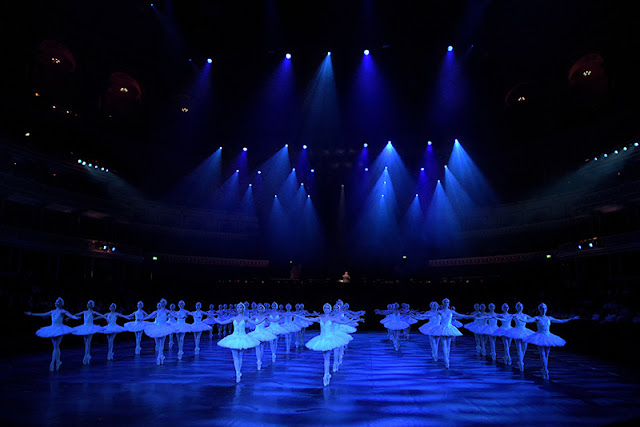 English National Ballet Swan Lake in-the-round - UK lifestyle blog