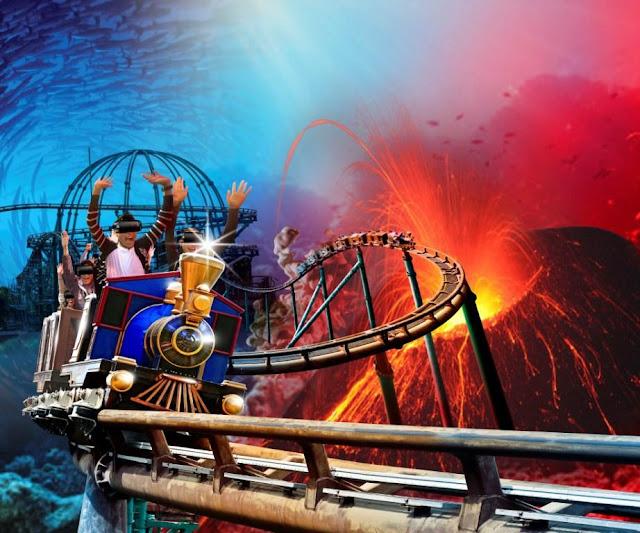 Ocean Park Hong Kong Launches Hong Kong's First Virtual Reality Rollercoaster At Christmas Sensation