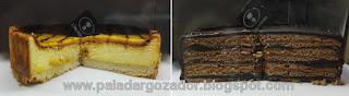 L Provenza pasteleria Cheescake Maracuya y Torta Panqueque Chocolat