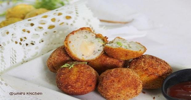 Chicken Cheese Balls Recipe
