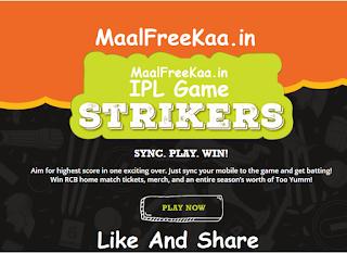 IPL 2019 Contest Game