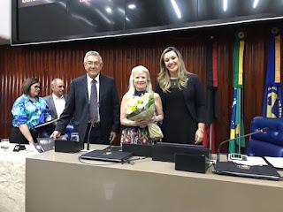 Emoção marca homenagem ao centenário de Afonso Pereira na Assembleia Legislativa