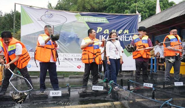 Kunjungan Inspektur Jenderal Kementerian Kelautan dan Perikanan ke Lumajang