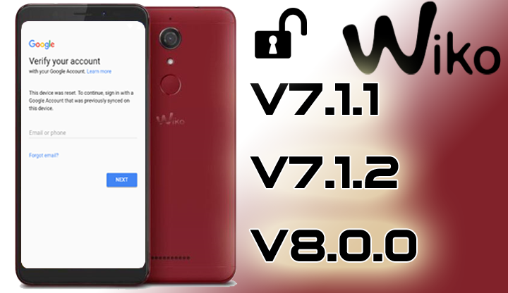 BYPASS FRP ON ANY WIKO MOBILE ANDROID 7 REMOVE GOOGLE