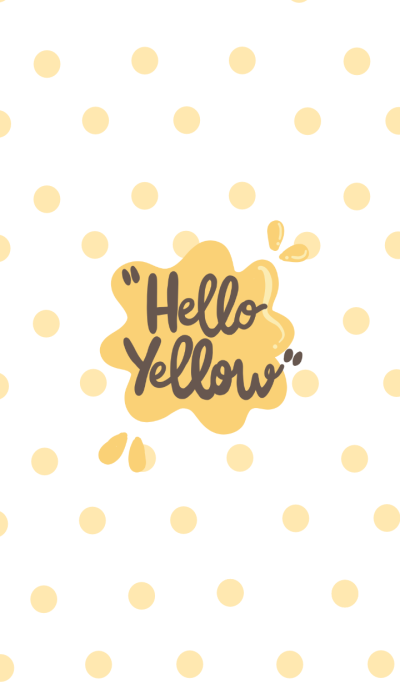 Hello Yellow!!