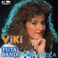 Violeta Miljkovic Viki - Diskografija (1992-2013)  - Page 2 Viki_Miljkovic_1992_Losa_sreca_prednja
