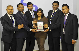 SLT Toastmasters Club won the first place at the CIMA Toastmasters Quiz 2012
