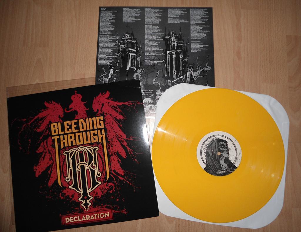 hardcore/metal vinyl: greed records order: bleeding through