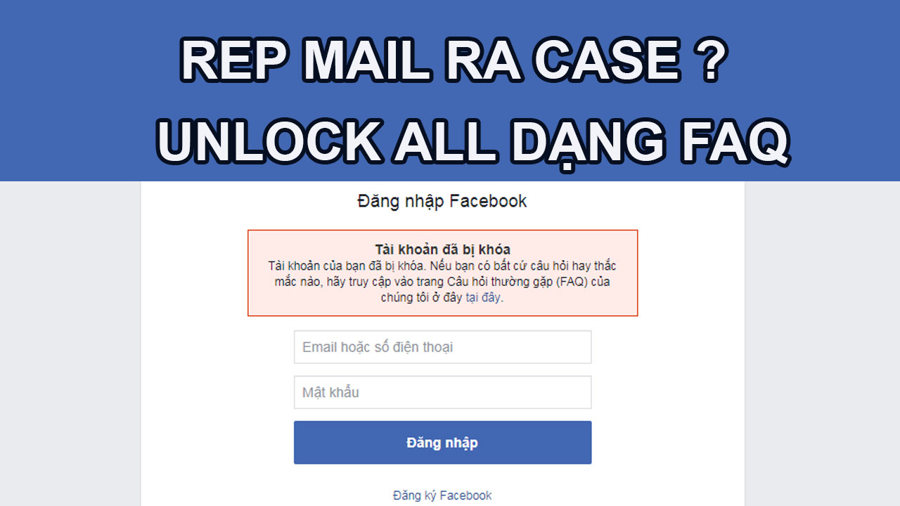 TUT UNLOCK ALL FAQ RA CASE BẰNG EMAIL CỰC BÁ