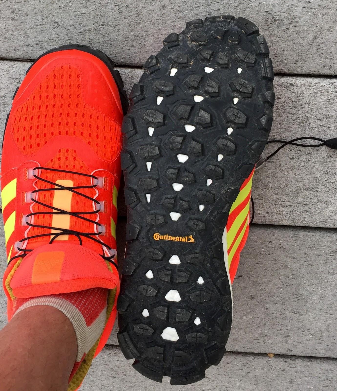 lineal Mucho bien bueno si  Road Trail Run: Review: adidas Raven Boost Trail Shoe. Plush Ride on All  Terrains