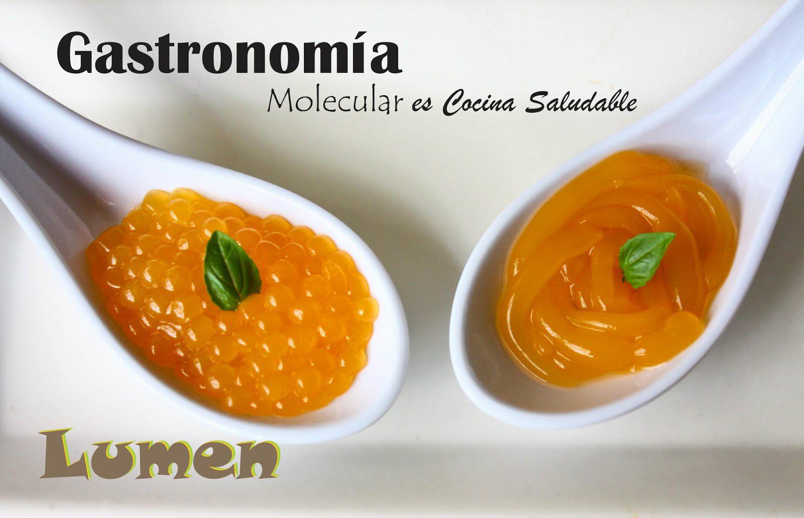 Lumenfri gastronom a molecular es cocina saludable for Cocina saludable