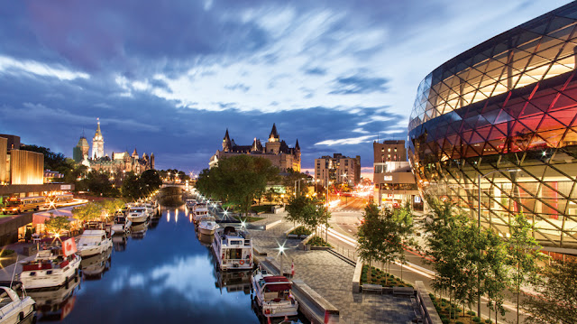 Canada - the most beautiful cities in Canada - important tourist places