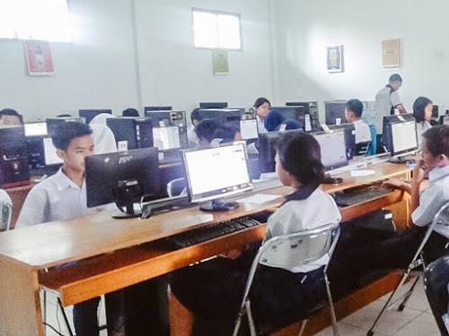 Geladi bersih UNBK SMP Kota Bandung