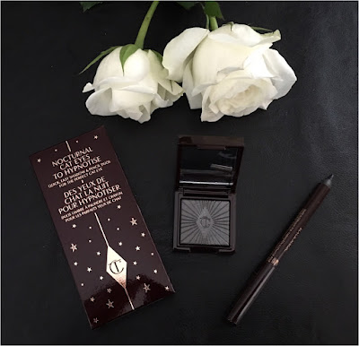 My Midlife Fashion, Charlotte Tilbury, Nocturnal Eyes, Silver Leopard and Black Magic