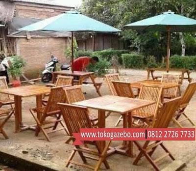 Payung Jati Meja