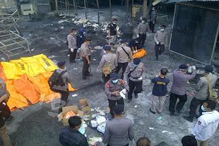 Korban Tewas Dalam Kebakaran Gudang Petasan Jadi 48 orang