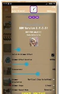 BBM Simple Brown v2.9.0.51 Apk