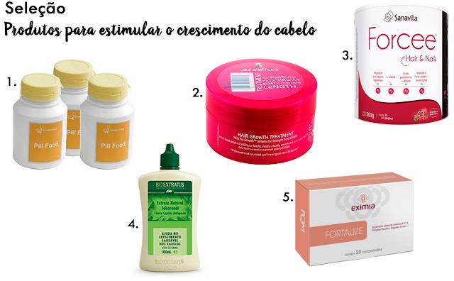 Seleção: produtos para estimular o crescimento do cabelo
