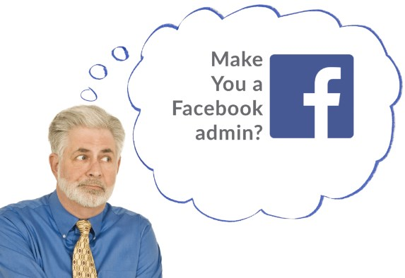 How to make someone an admin on facebook