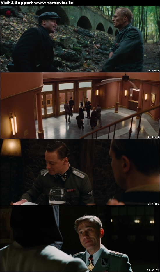 Inglourious Basterds 2009 English 720p BRRip 1.1GB ESubs ...