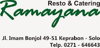 Lowongan Marketing & Waiter di Ramayana Resto & Catering - Solo