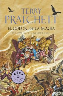"""""""El color de la magia"""" de Terry Pratchett"""