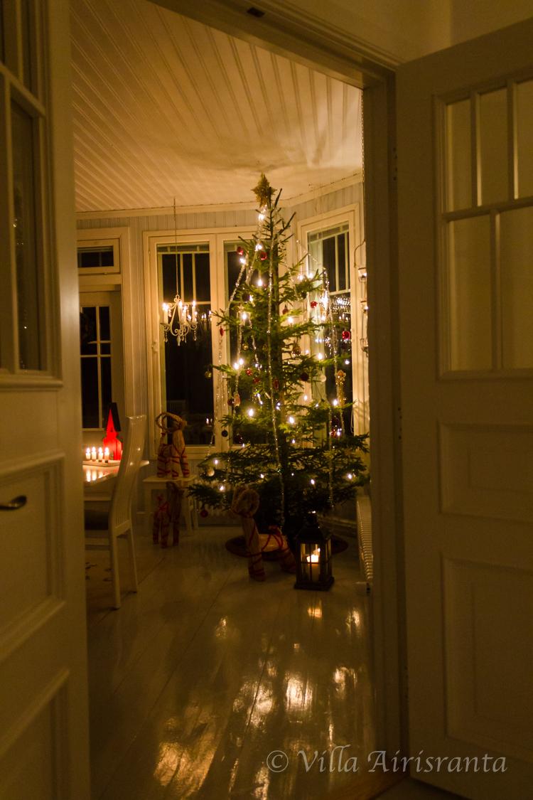 veranta, joulutunnelmia, maalaisromanttinen sisustus, beautiful home, old house