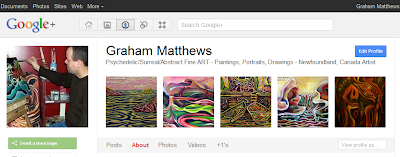 Google Plus Profile Art Photo