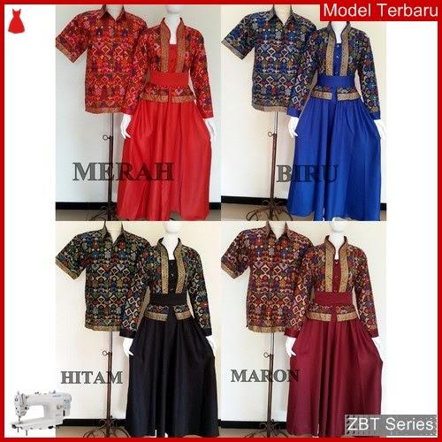 ZBT01509 Kebaya Dress Batik Gamis Keluarga Lionida BMGShop