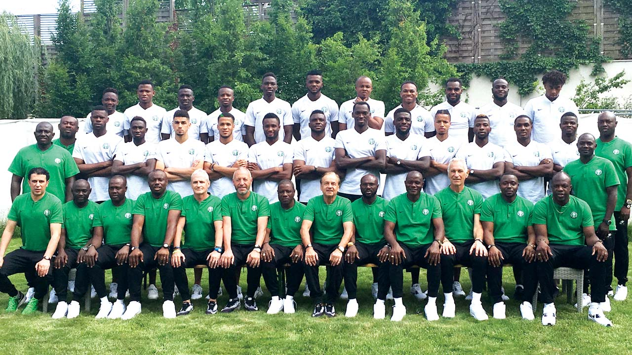 Super Eagles to arrive in Yessentuki, Russia today