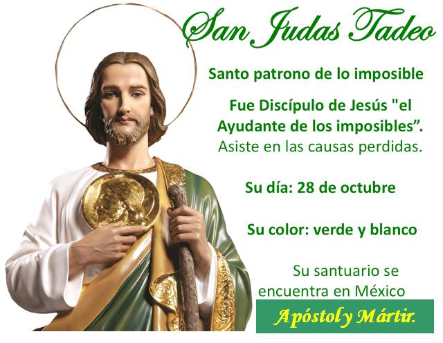 Mensajes De Dios Al Mundo: LETANÍAS EN HONOR DE SAN JUDAS TADEO