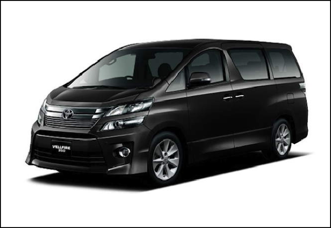 Toyota Vellfire 2.4 (A) or Similar