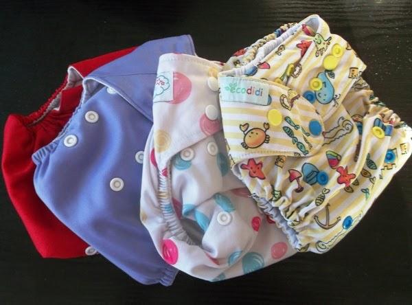 zestaw pieluszek wielorazowych - pieluszki pul otulacze i kieszonki