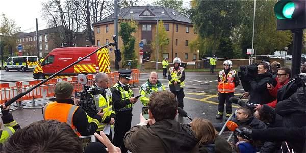 Varios muertos accidente tranvía Londres y decenas de heridos