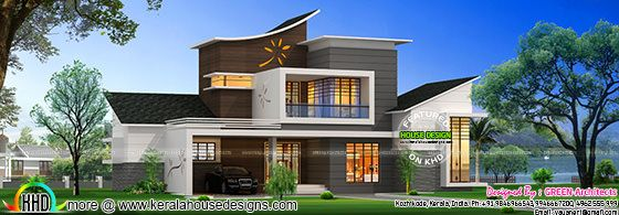 Home Design Pictures Entrancing February 2016  Kerala Home Design And Floor Plans 2017