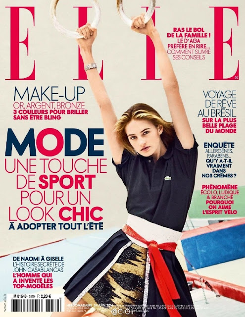 Fashion Model, @ Sanne Vloet by Arthur Elgort for Elle France, June 2016