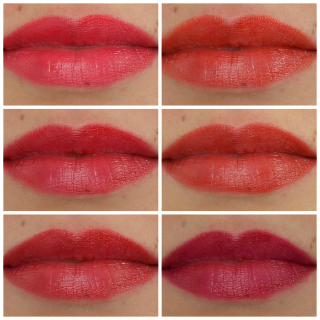 L'oréal color riche la palette lips red Tragefotos