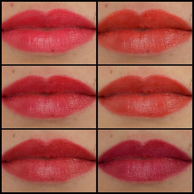 L'oréal color riche la palette lips red Tragefotos