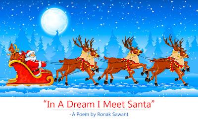Cover Photo: In A Dream I Meet Santa - A Poem by Ronak Sawant