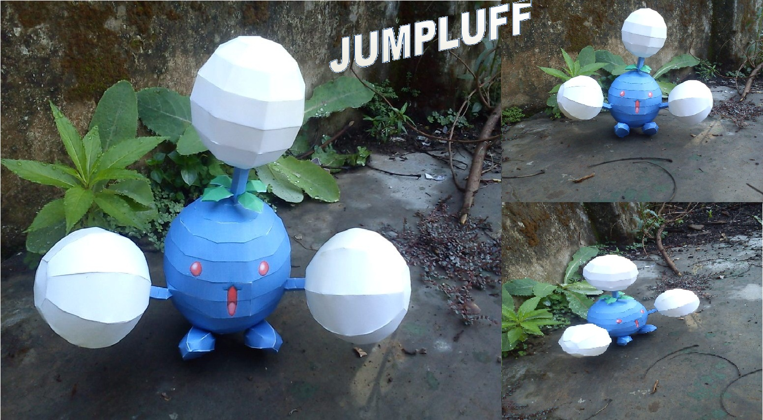 POkemon Jumpluff Papercraft