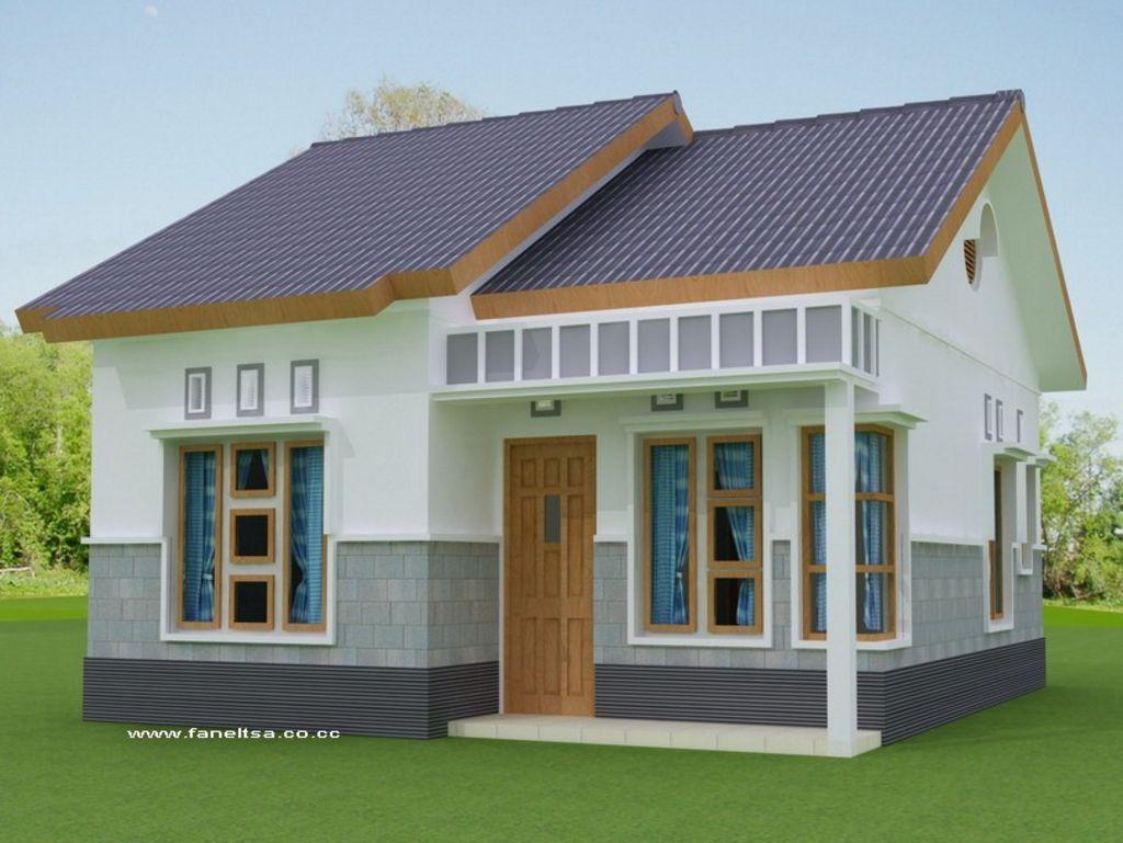 Model Rumah Kecil Sederhana Modern