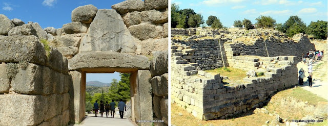 líada: Micenas, Grécia, e Troia, Turquia
