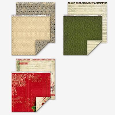 yuletide paper pack