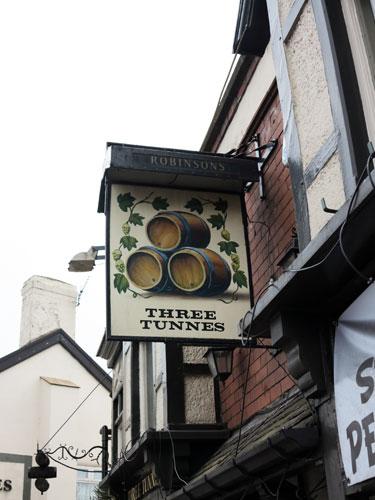 Three Tunnes Pub Hazel Grove Stockport
