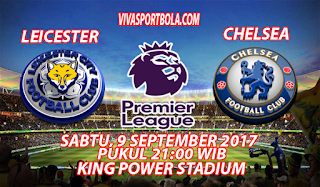 Prediksi Leisecter City vs Chelsea 9 September 2017