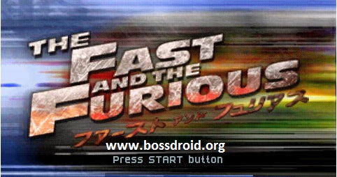 Download Fast And The Furious PPSSPP PSP ISO Android