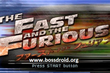 Fast And The Furious PPSSPP PSP ISO Android