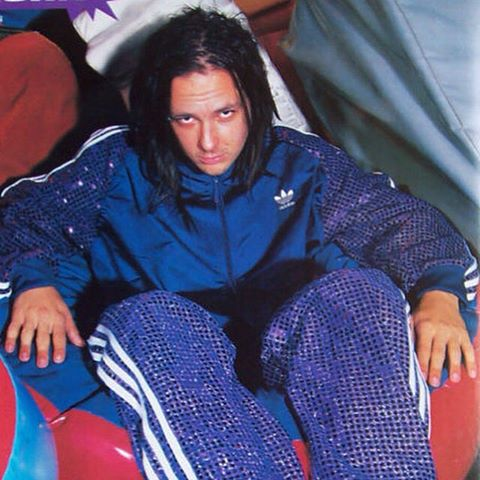 Korn Jonathan Davis Adidas tracksuit