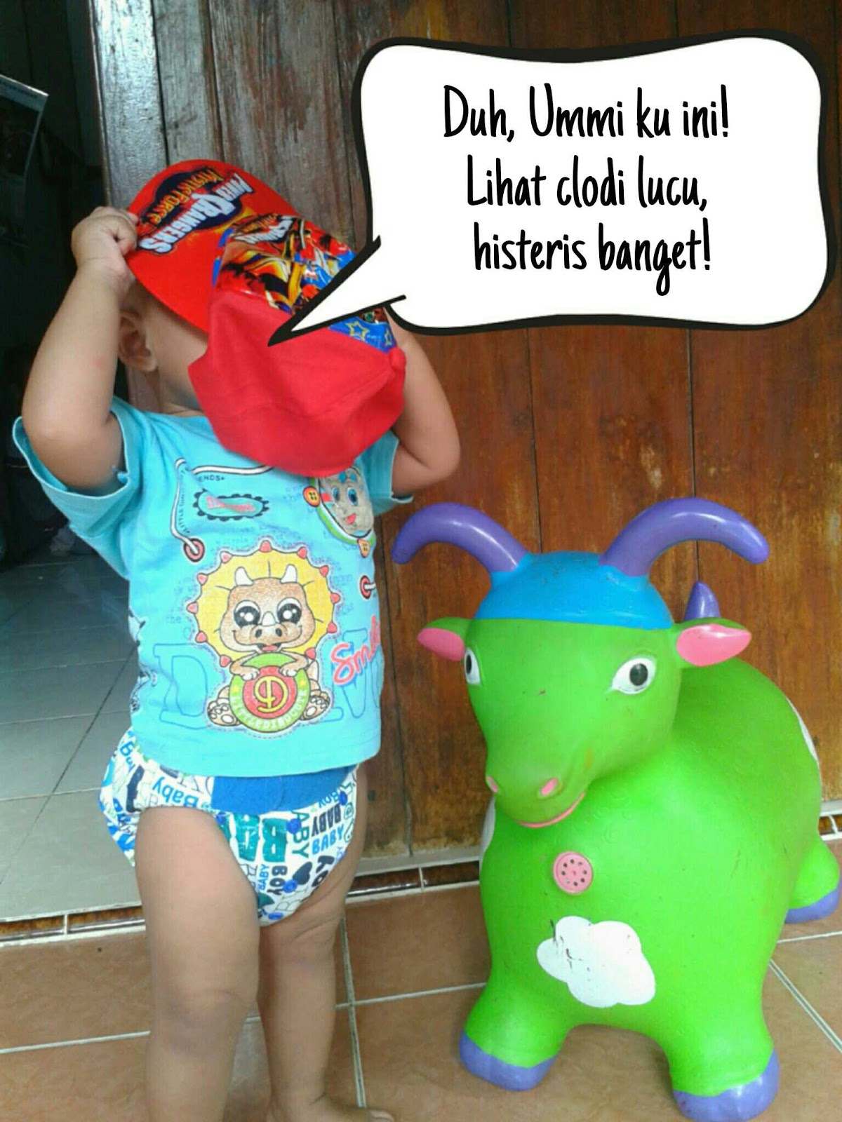 Little Hippo Kesan Pertama Yang Mencuri Hati Diyanika Journal Clodi Popok Kain Kak Ghifa Malu Ya